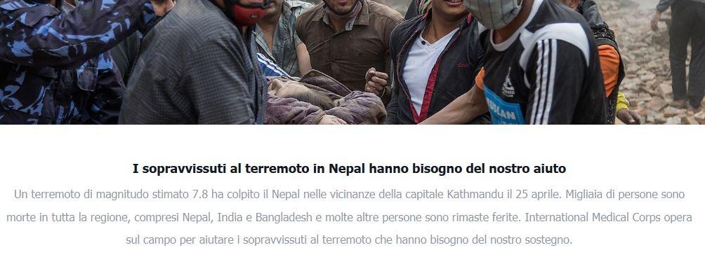 facebook per il nepal