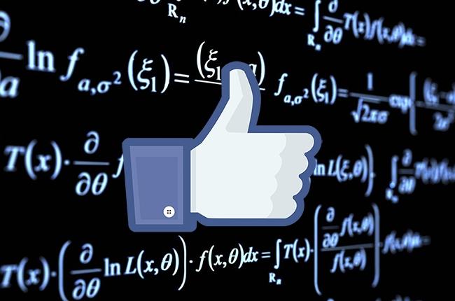 algoritmo faecebook
