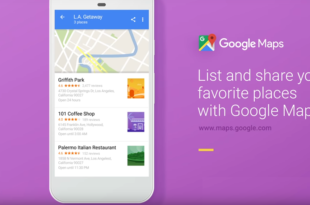 Liste Google Map